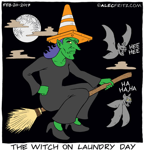 The Witch On Laundry Day